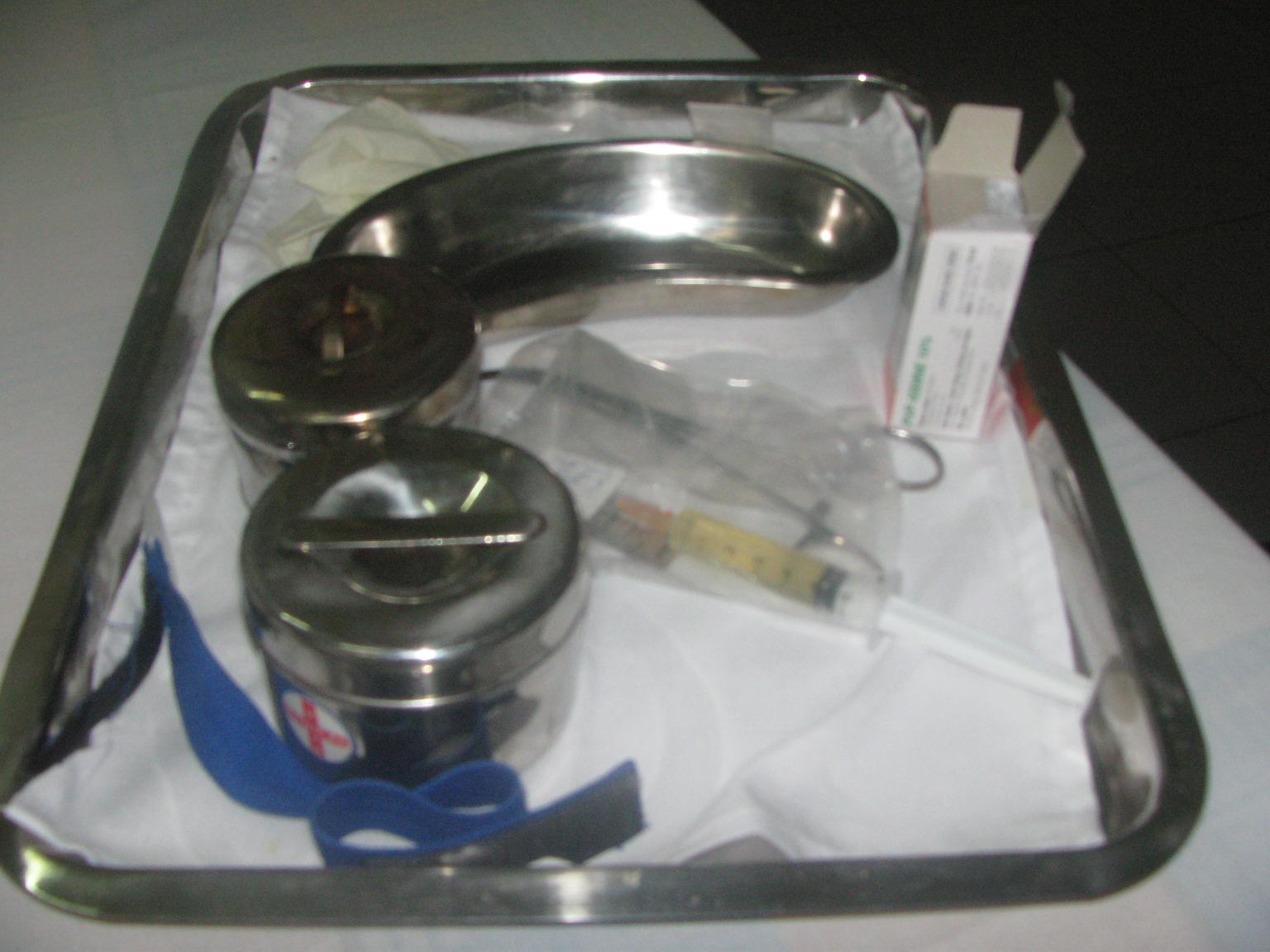 nursing kit syringe vietnam