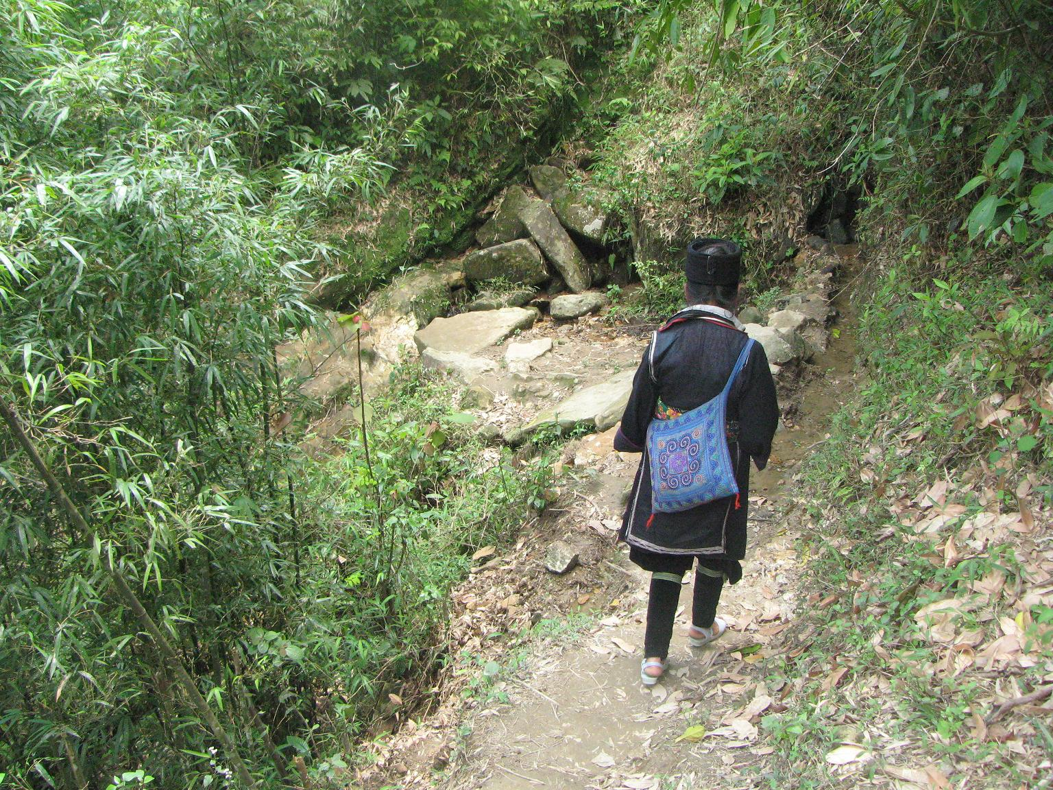 Trekking in Sapa Vietnam with a local guide