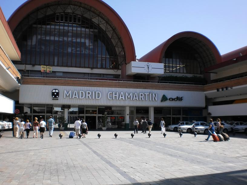 Madrid Chamartin train station