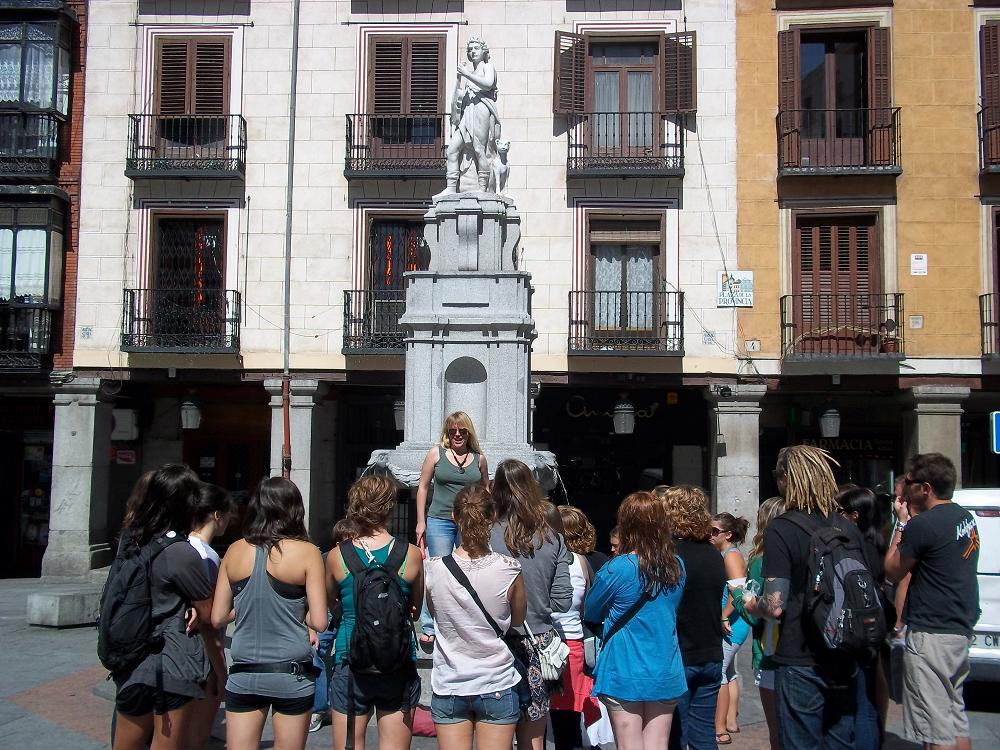 Madrid City Walking Tour Spain