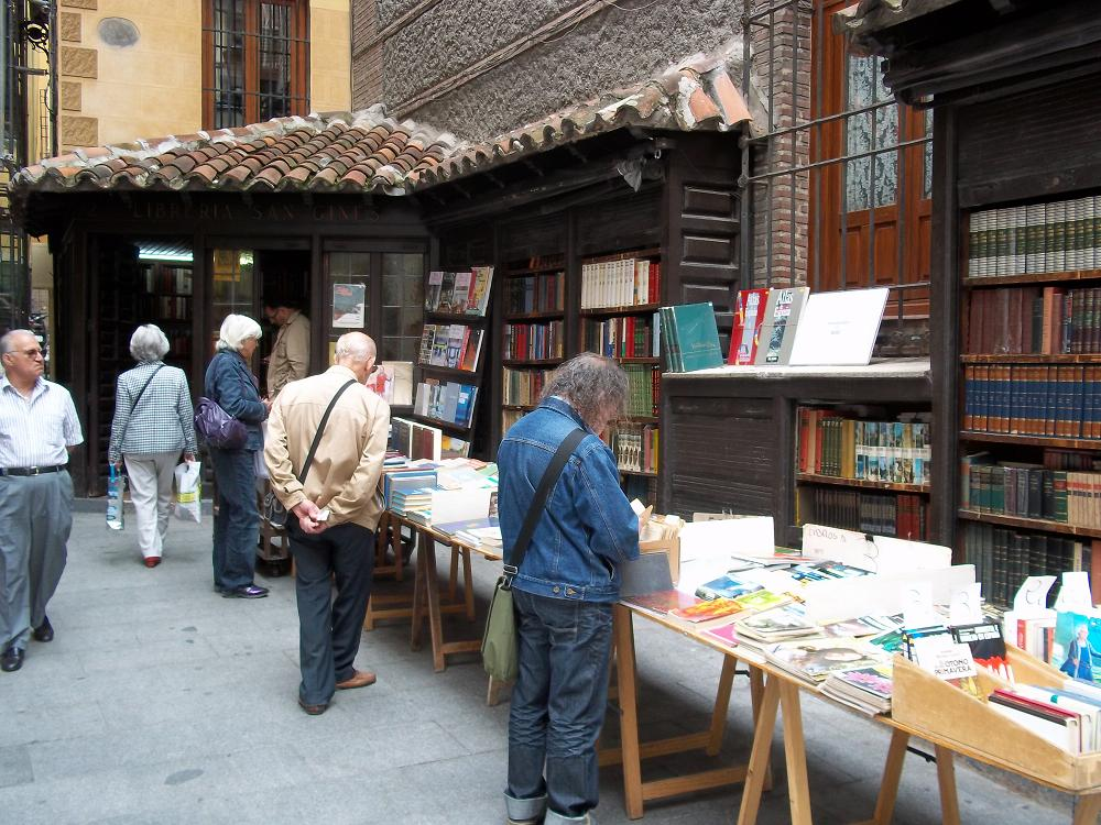 Oldest Bookstore in the world, Madrid Spain