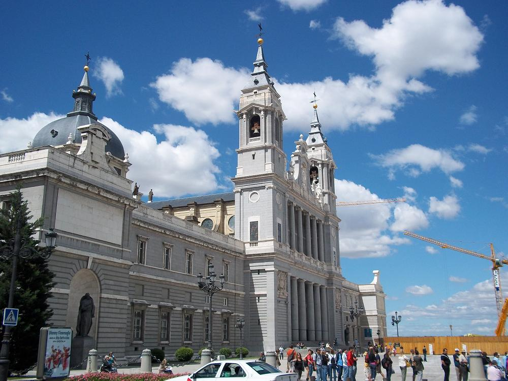 Madrid Spain  Roman Catholic Cathederal