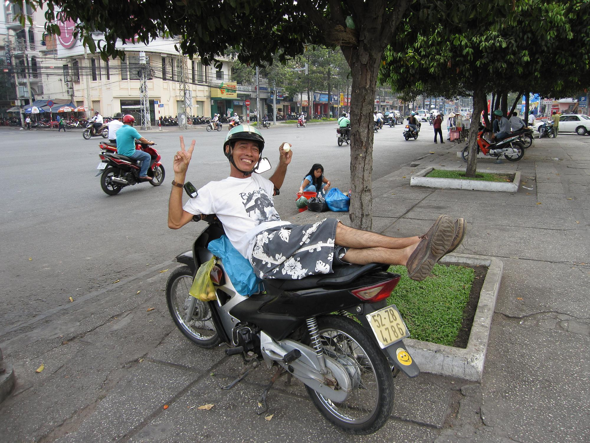 Camera Craziness and Motorcycle Madness in Ho Chi Minh City, Vietnam