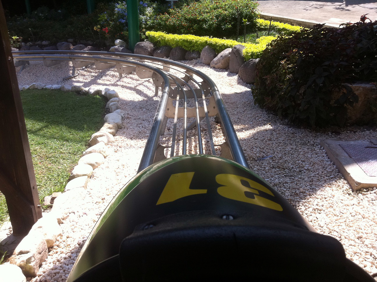 Jamaican Bobsled Experience at Mystic Mountain