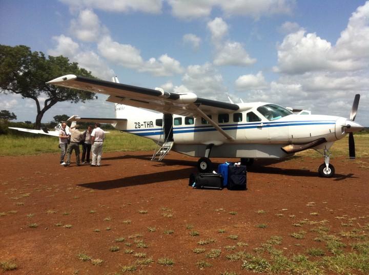 Flight From Johannesburg to Singita Lebombo in Kruger Park