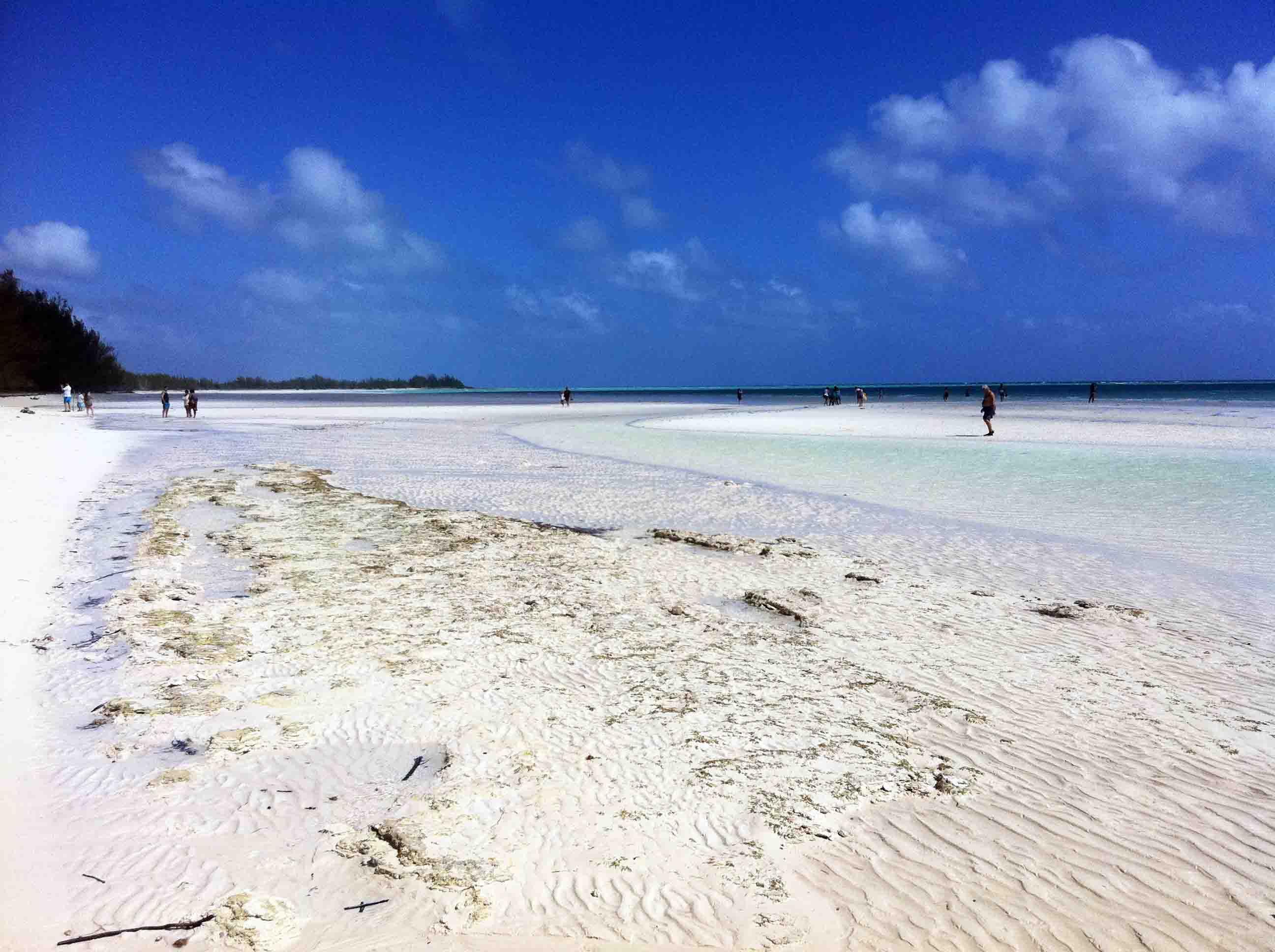 Beautiful Beaches In Lucayan National Park Bahamas