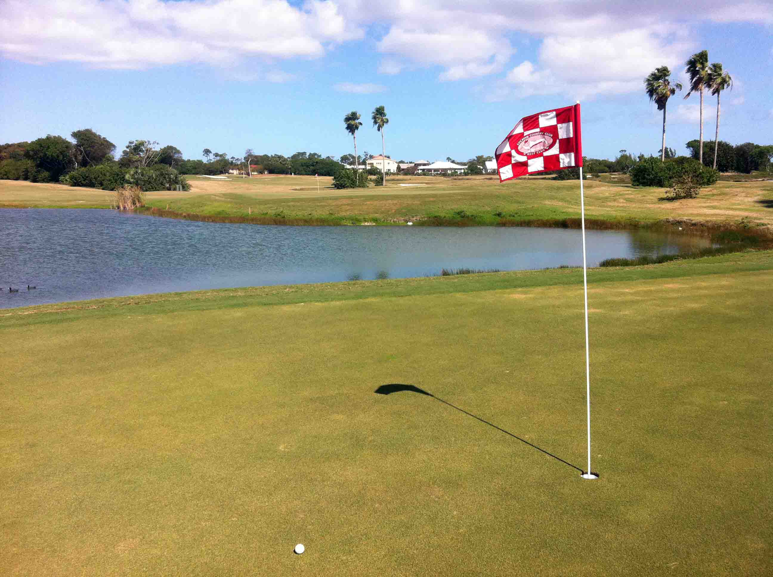 Golfing: The Reef Course on Grand Bahama Island