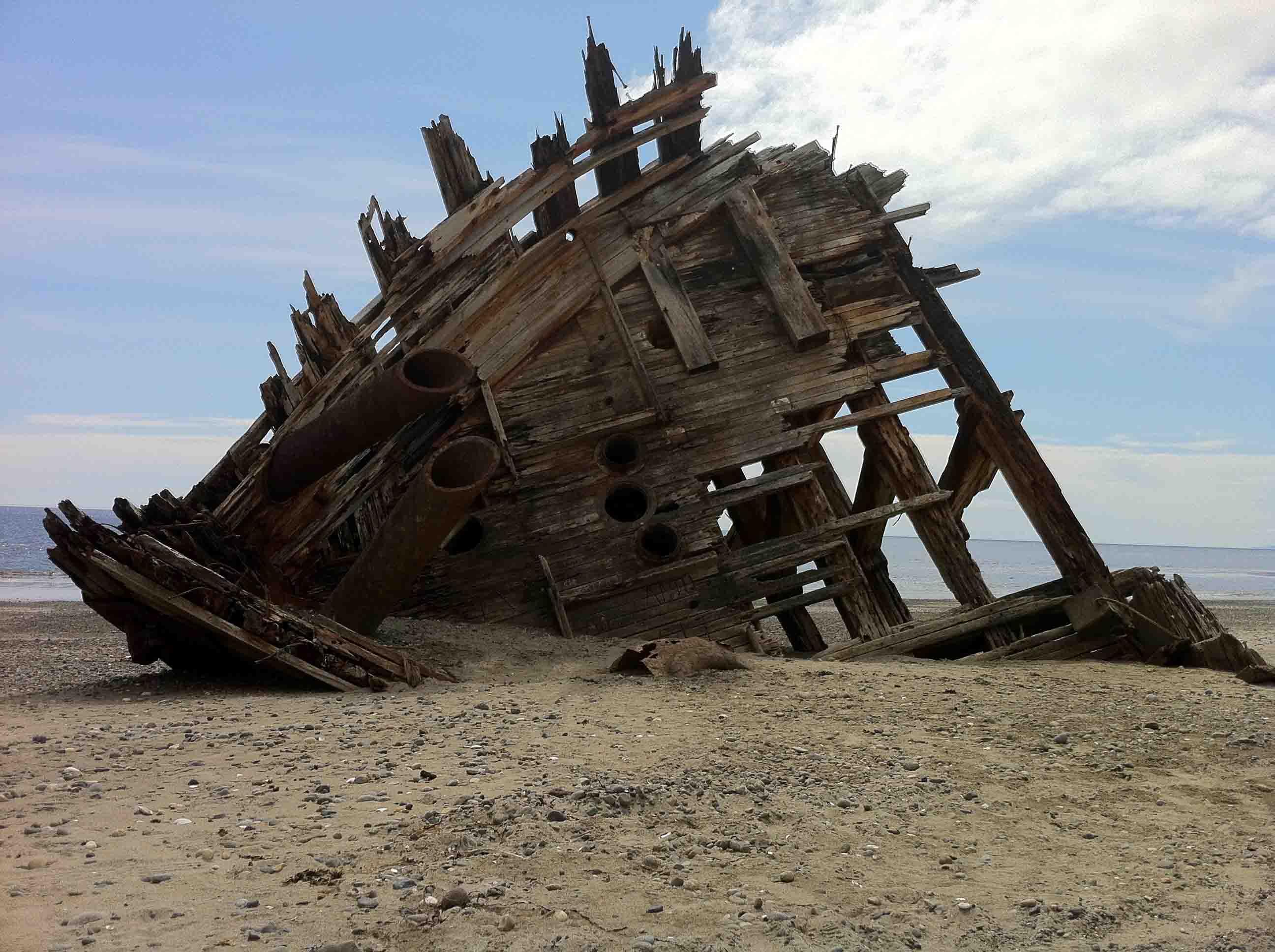 Hiking The Pesuta Shipwreck Trail In Haida Gwaii Stop