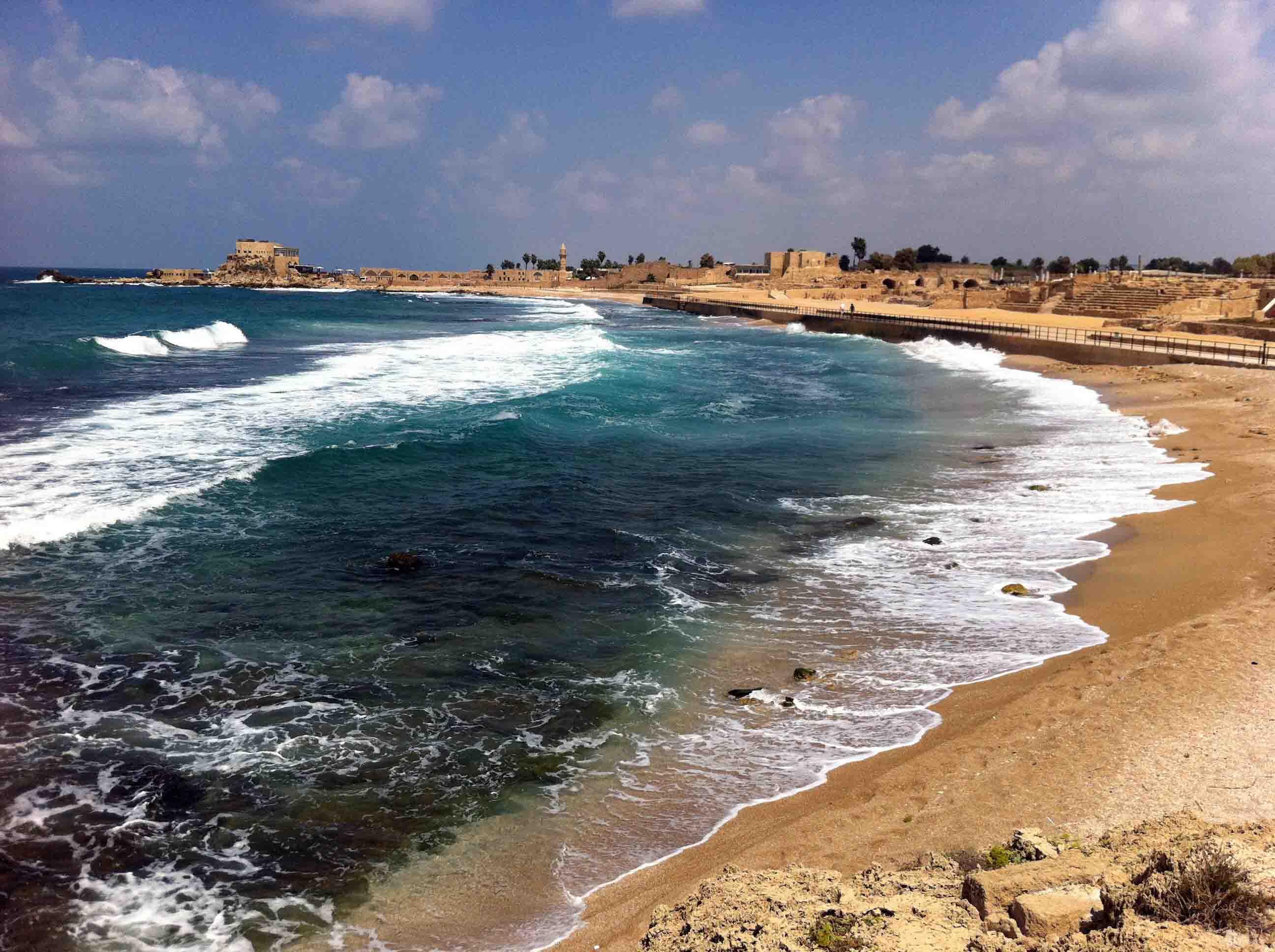Visiting Jaffa, Caesarea & Beit She'arim National Park in Israel