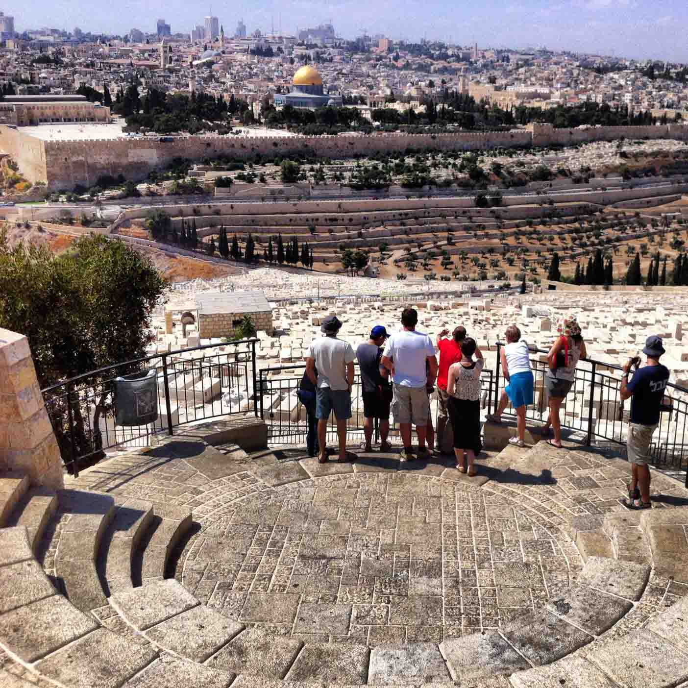 Getting Acquainted With Jerusalem aka The Holy City