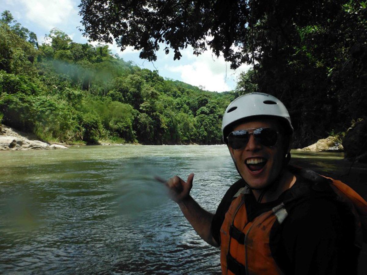 White Water Rafting on the Pacuare River, Costa Rica