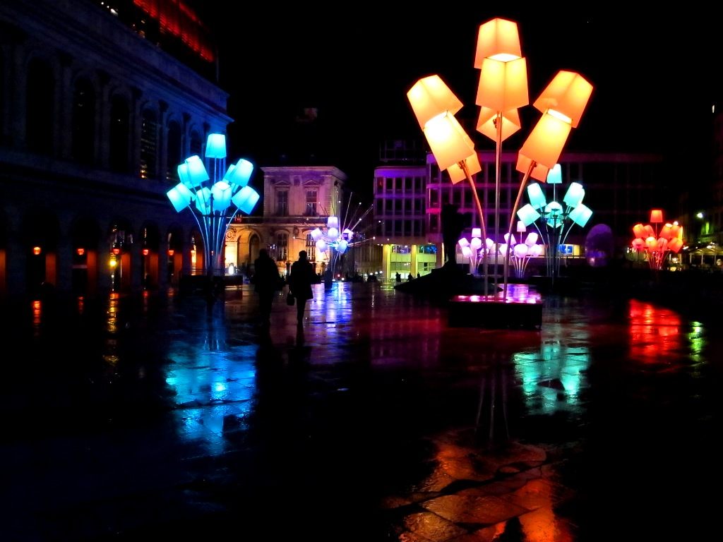 HighLIGHTS of Fête des lumières in Lyon, France