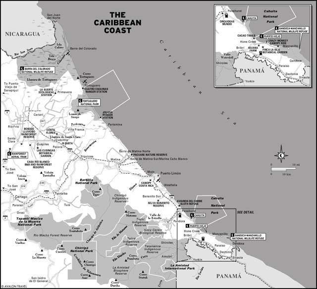 caribbean_coast_costa_rica_map
