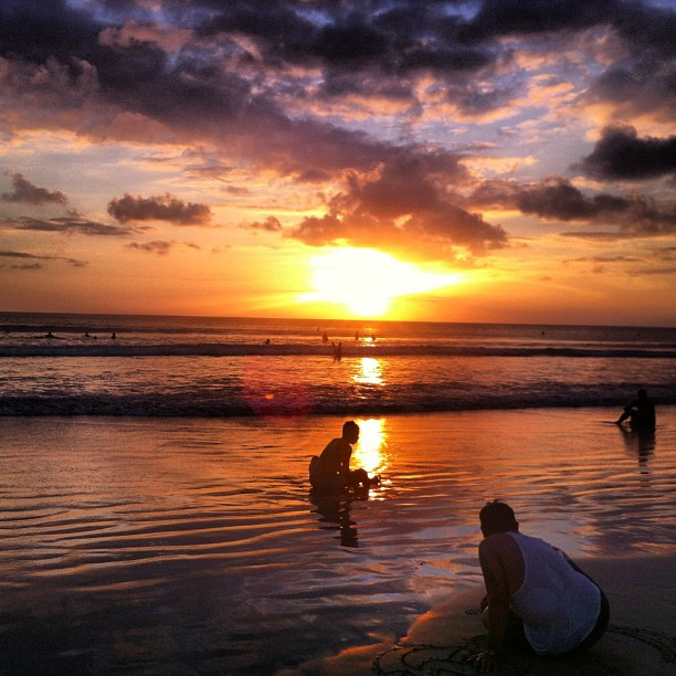Cheap Massages & Beach Sunsets in Bali, Indonesia
