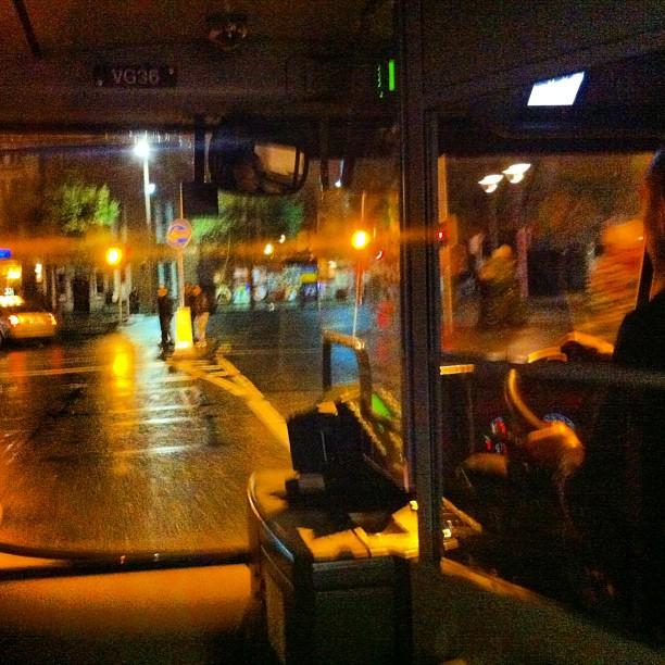 Leaving Beloved Blazer in Bus Station & Detour to Dublin
