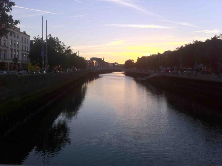 sunset_river_dublin