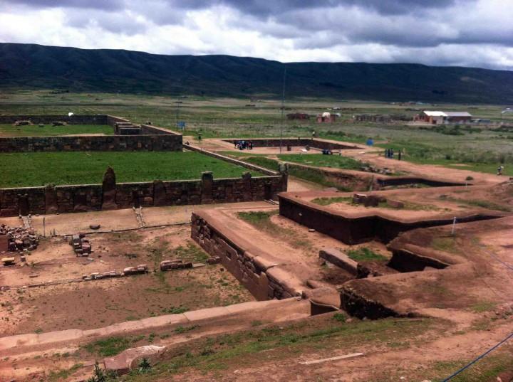view_from_pyramid_tiwanaku_bolivia