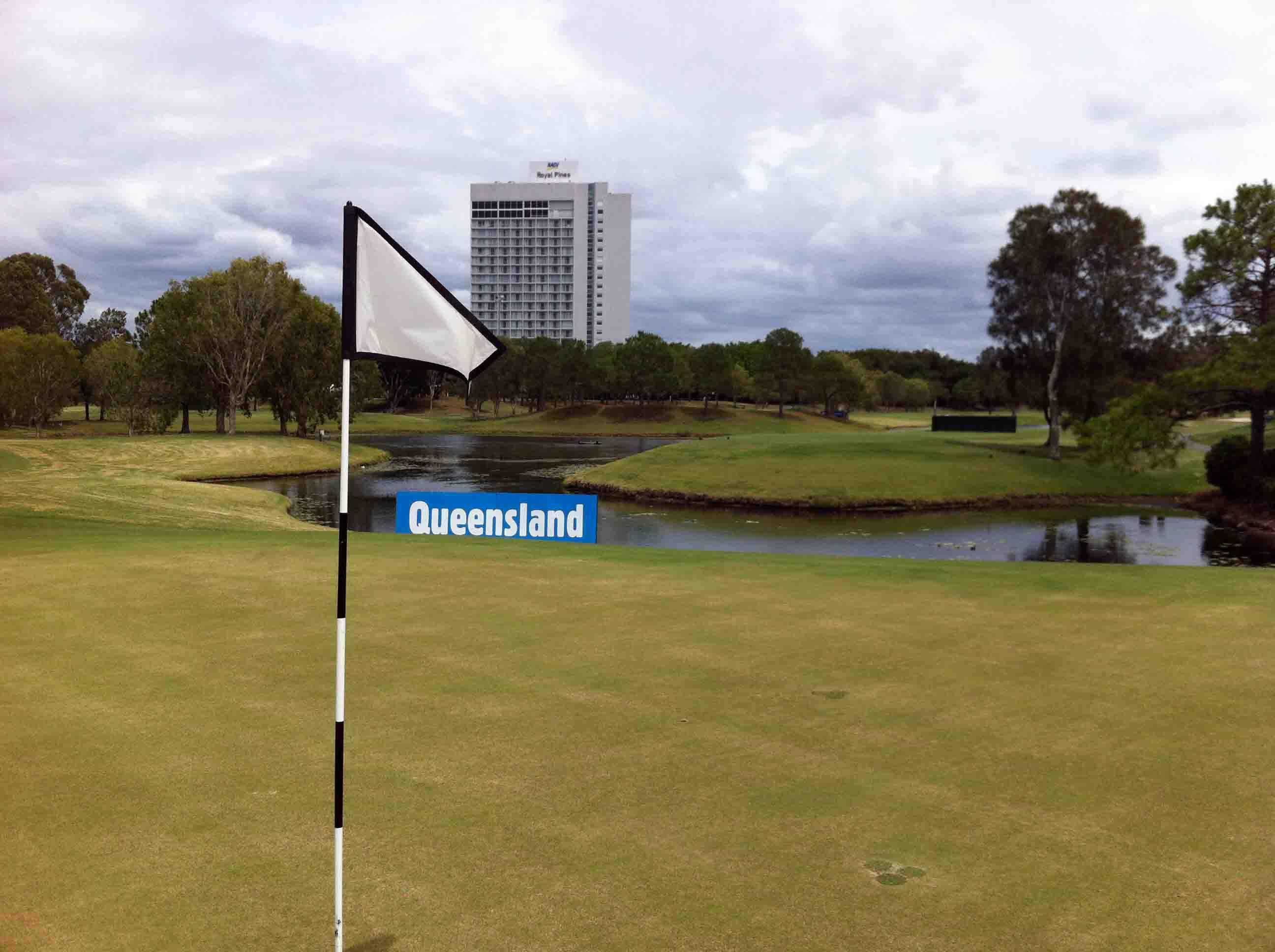 Round of Golf at RACV Royal Pines Resort on Gold Coast