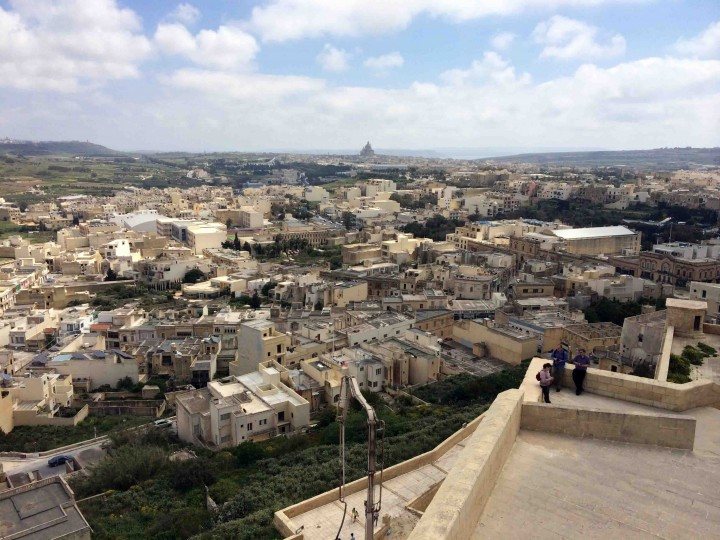 view_victoria_from_citadel_gozo