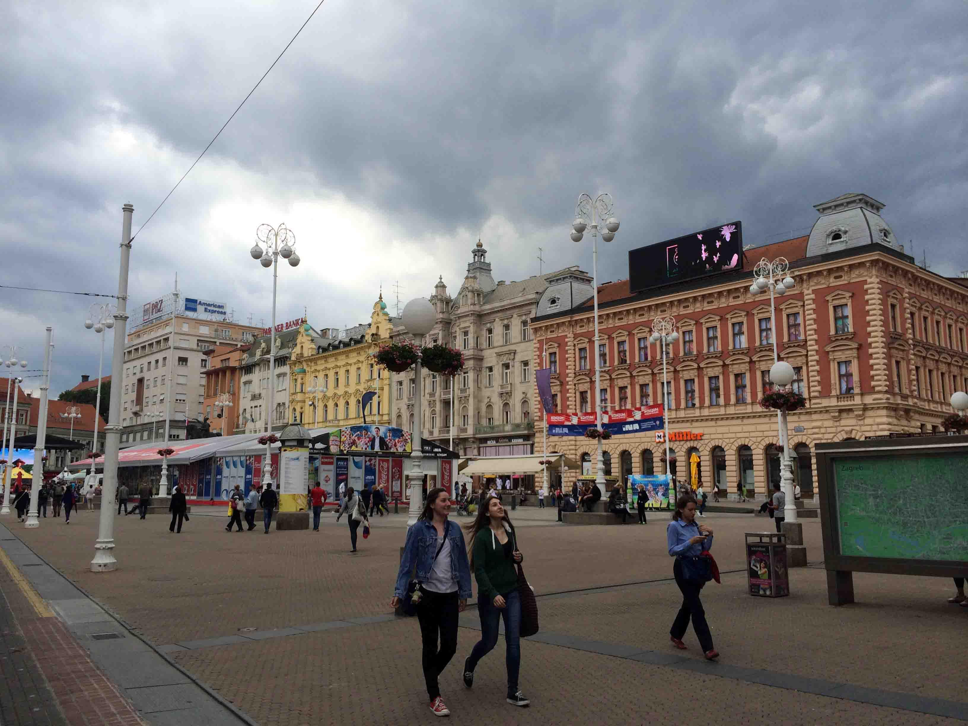 VIDEO: Exploring Zagreb, Croatia