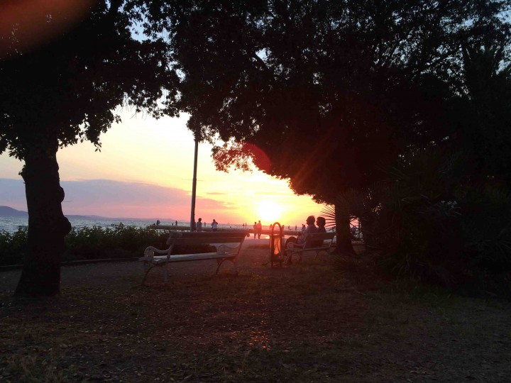 park_sunset_zadar_croatia