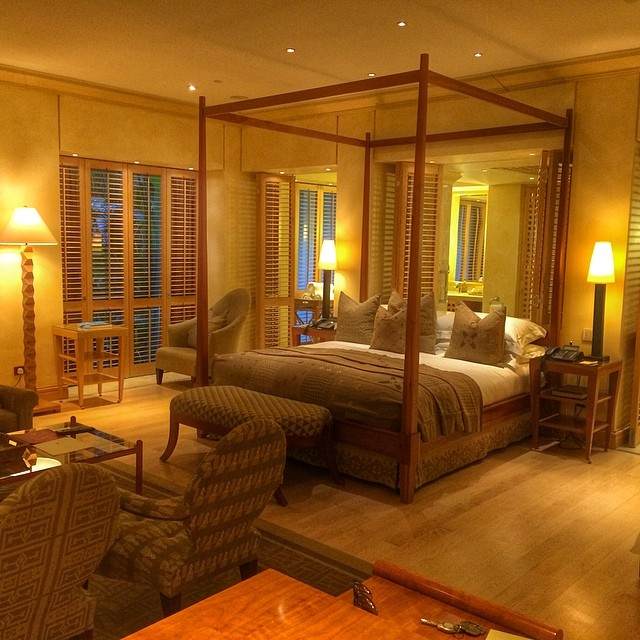 Luxury Room at The Saxon Hotel in Johannesburg
