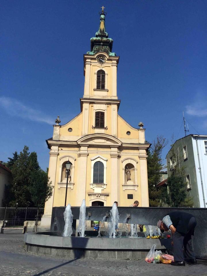 downtown_fountain_zemun_belgrade_serbia