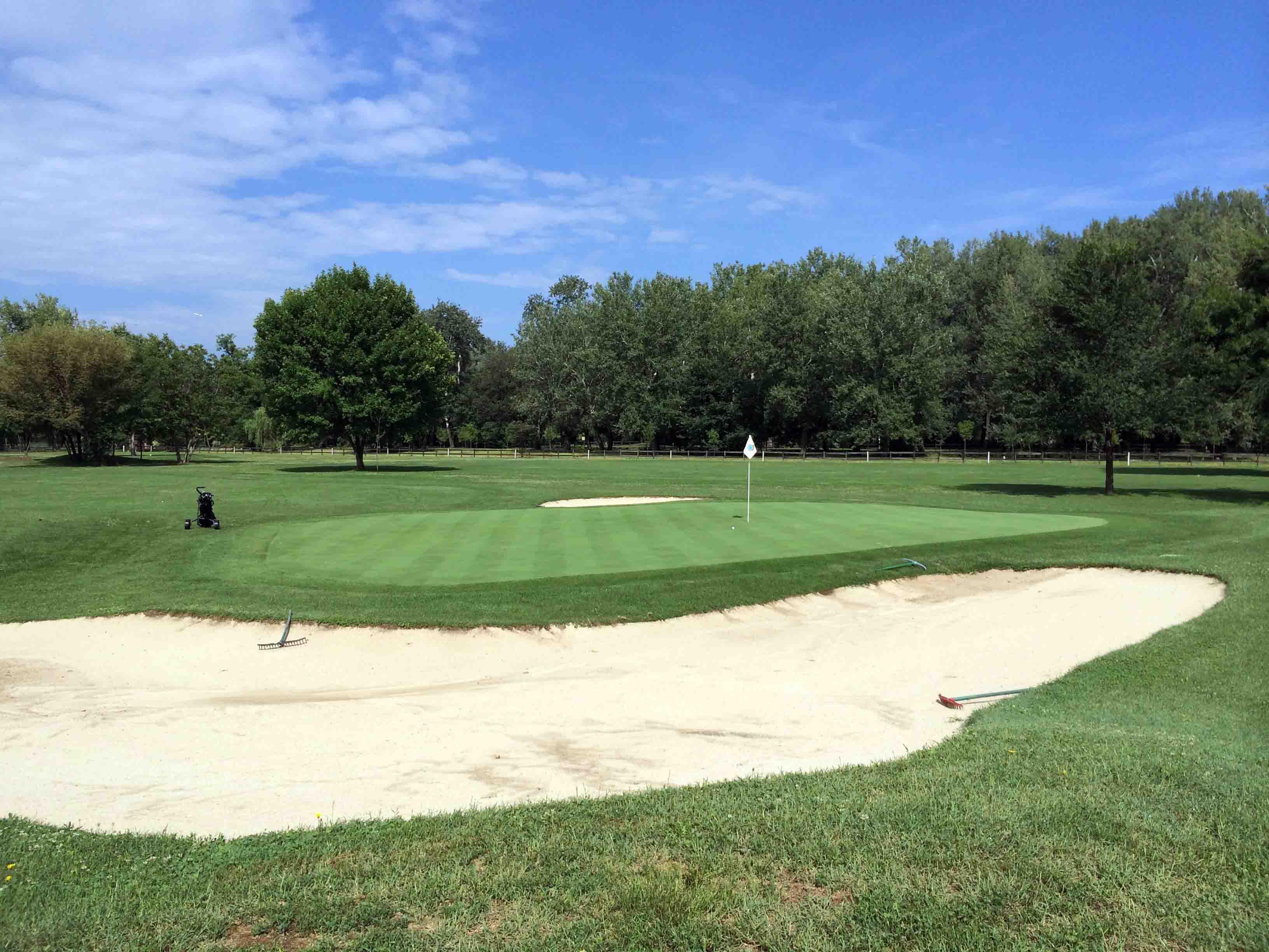 Round at Golf Club Belgrade, Serbia
