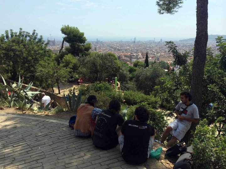 view_barcelona_park_guell