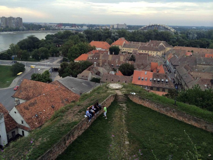 view_from_Petrovaradin_Fortress