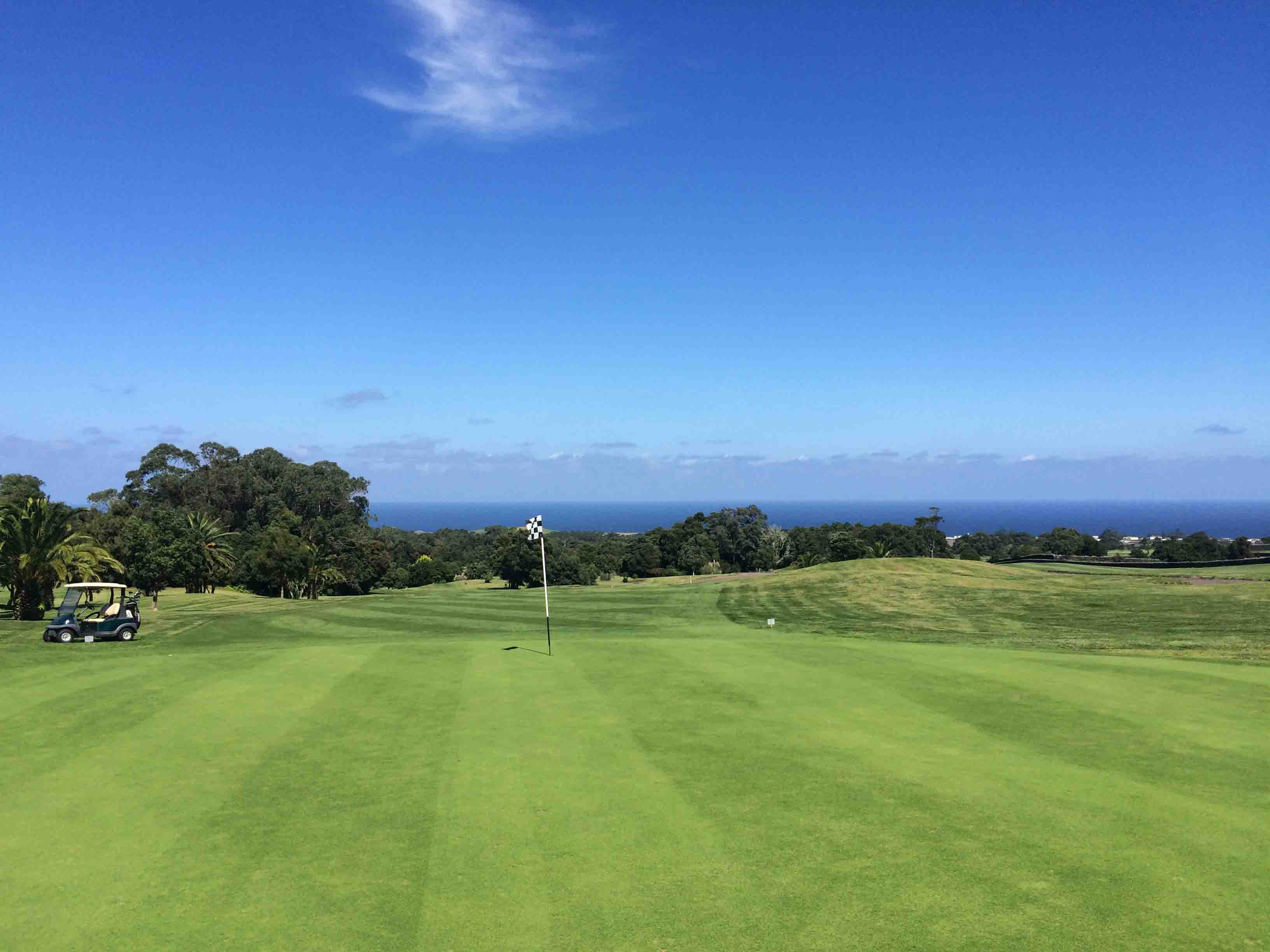 Batalha Golf Course on the Azores Islands
