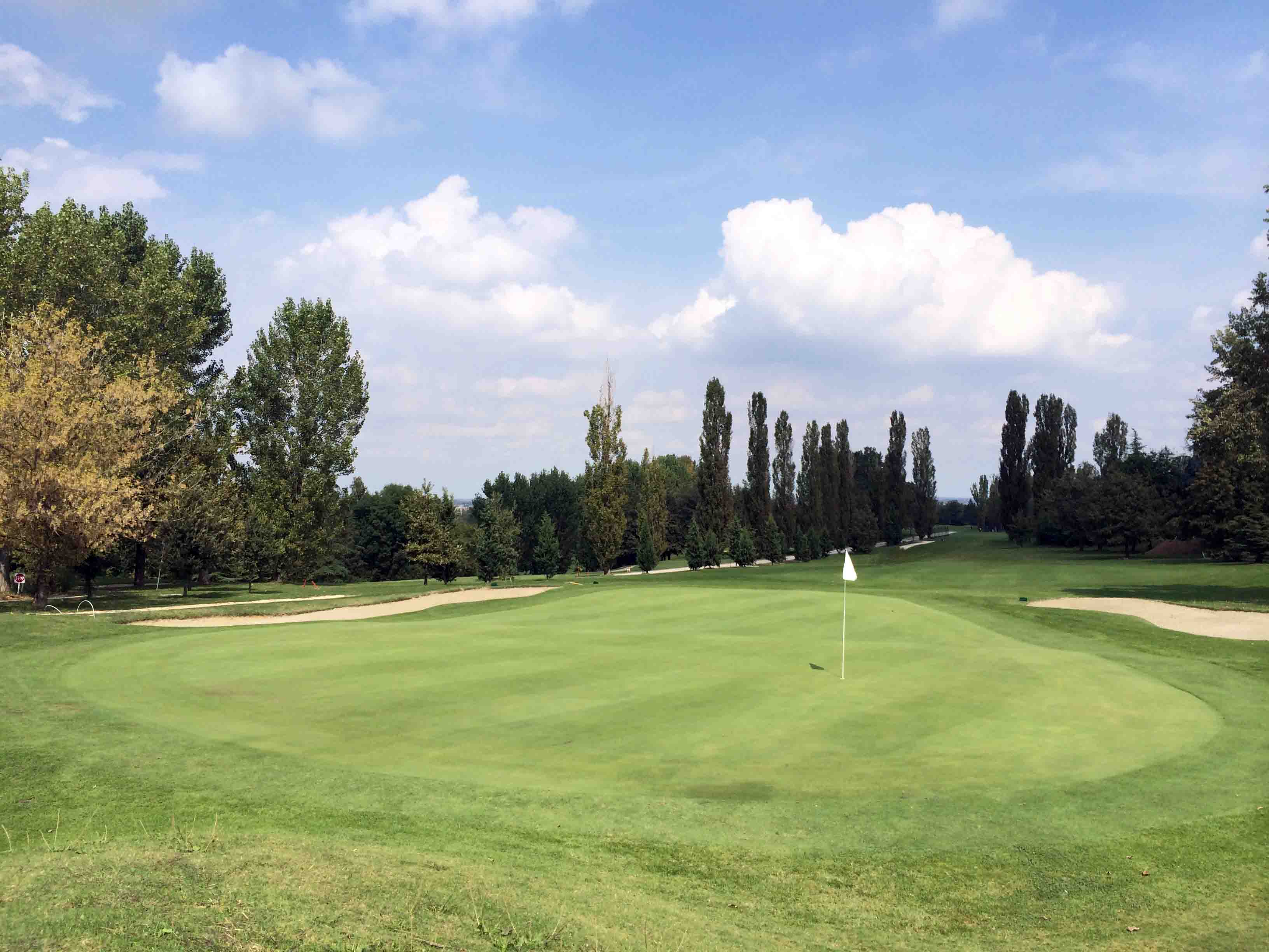 Round at Golf Club Bologna in Bologna, Italy