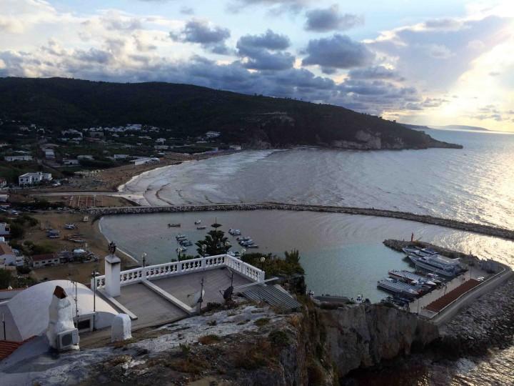 beach_dusk_peschici_italy