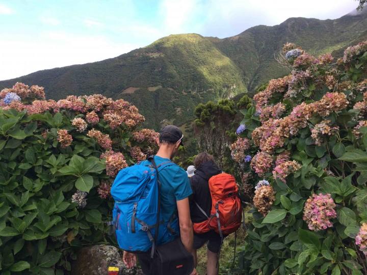 george_hiking_sao_jorge_azores
