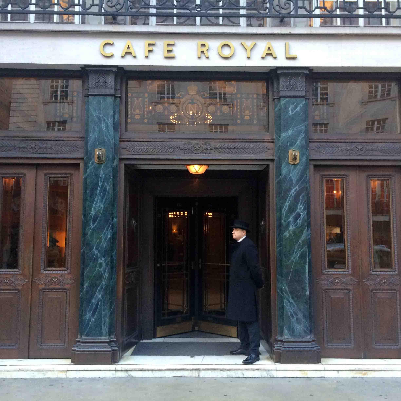 Hotel Cafe Royal & Winter Wonderland in London, England