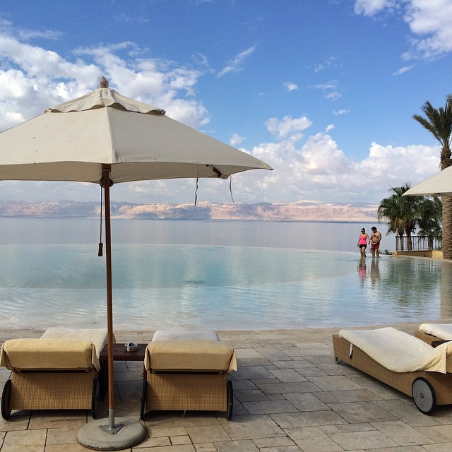 Floating in the Dead Sea & Ma'In Hot Springs in Jordan