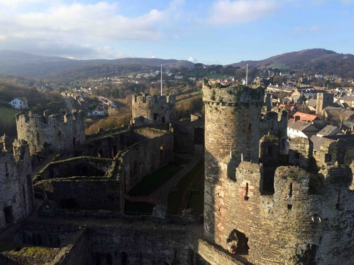majestic conwy castle wales