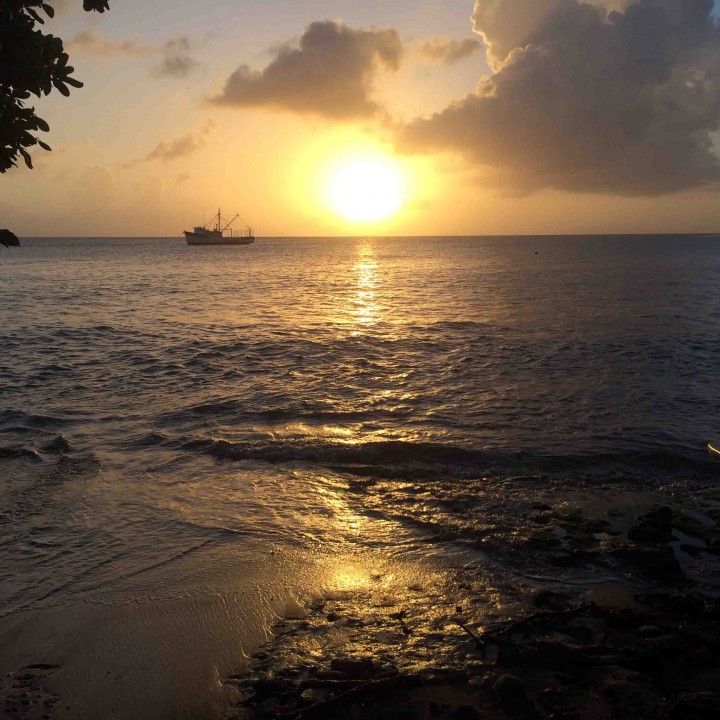 little_corn_beach_sunset
