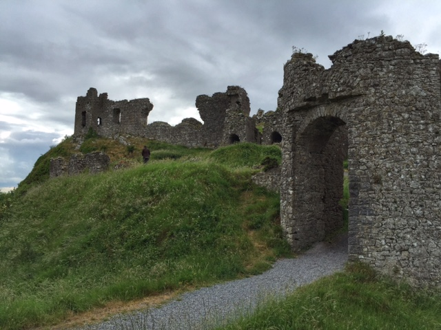 Visiting The Rock of Dunamase, Ireland