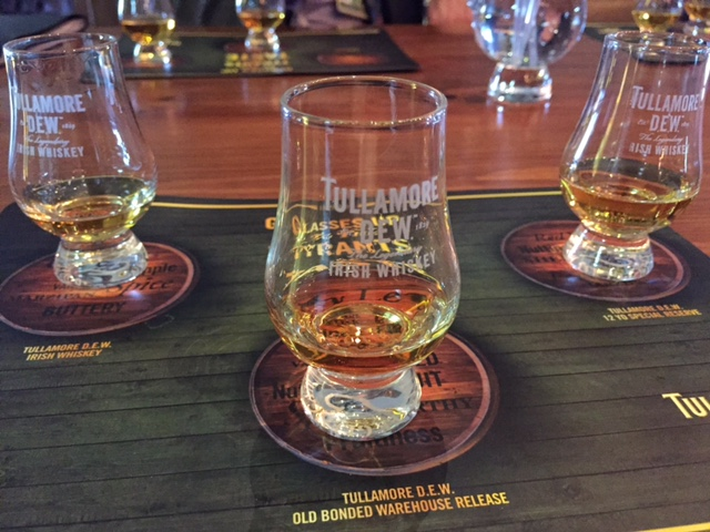 Irish Whiskey Tasting in Tullamore, Ireland