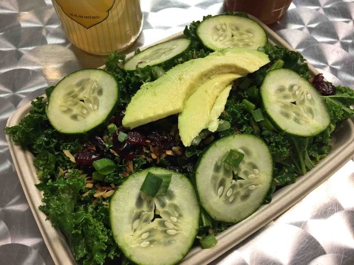 kale salad simply pure las vegas