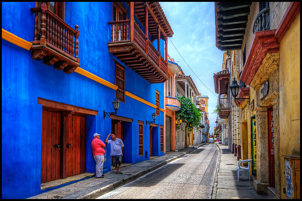 Cartagena, Colombia by CC user pedrosz on Flickr