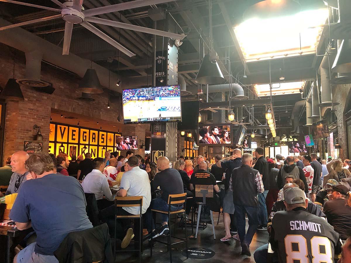 The Park Vegas Beerhaus beer garden
