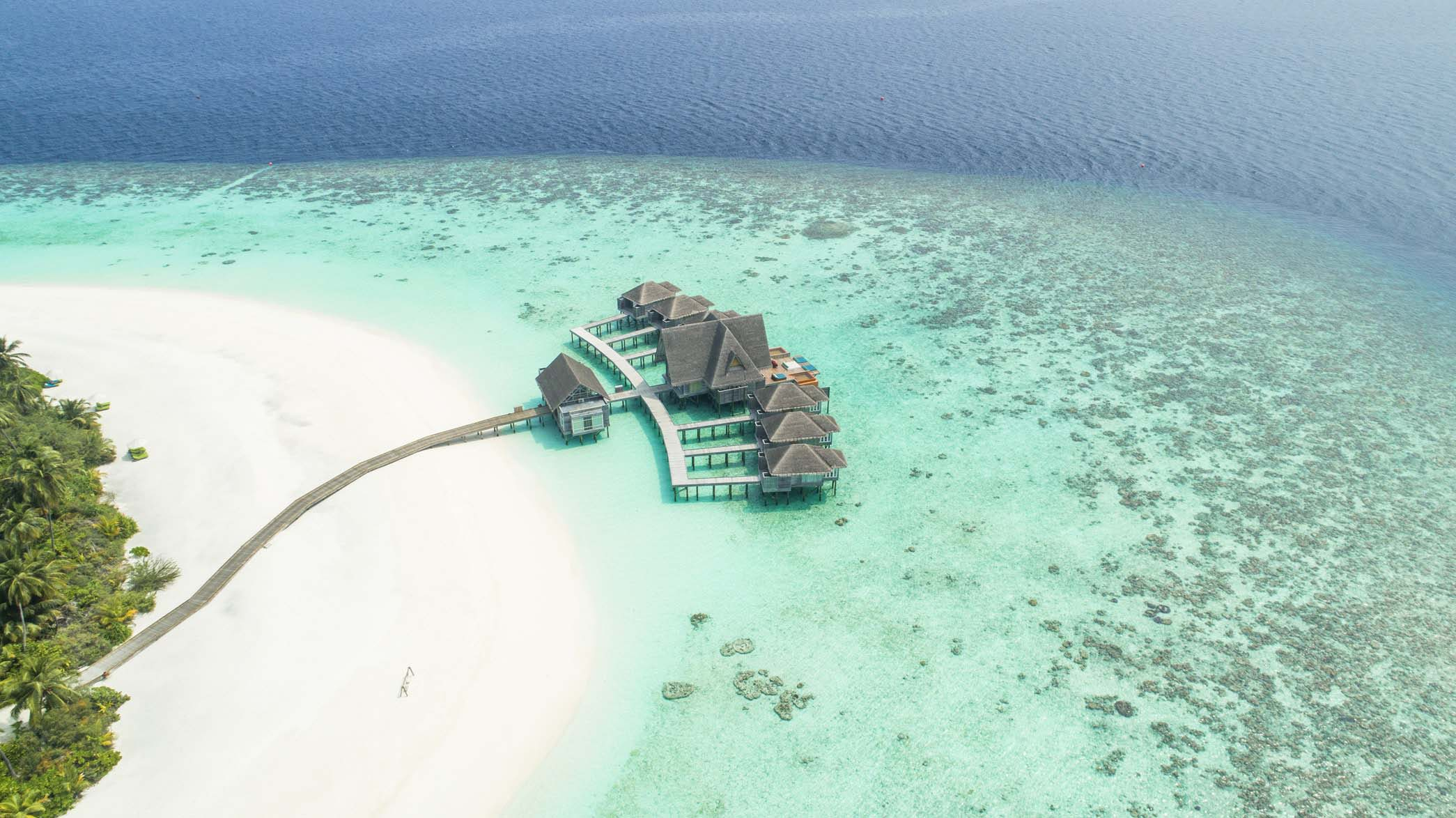 Maldives is a luxurious tropical paradise