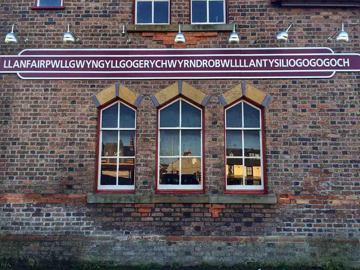 Second longest place name in the world - Llanfairpwllgwyngyllgogerychwyrndrobwllllantysiliogogogoch, Wales
