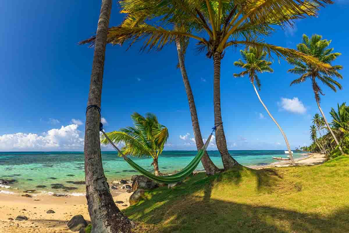 Caribbean beaches of the Corn Islands are like this.