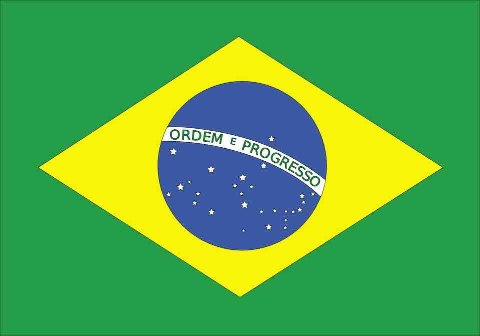 flag of Brazil! The official Brazilian flag.