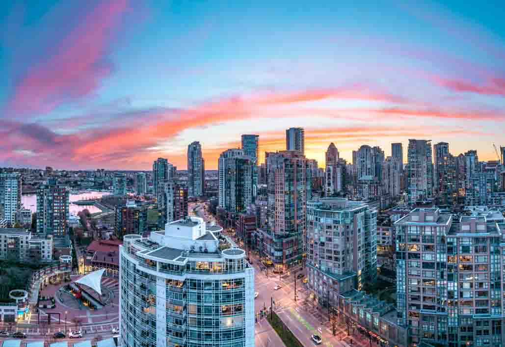 Yaletown skyline